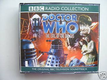Doctor Who Evil of the Daleks CD  Audio Soundtrack